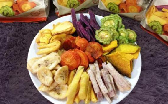 Máy sấy lạnh hoa quả An Pha - Mang hoa quả sấy khô vươn tầm quốc tế